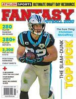Athlon Sports FANTASY FOOTBALL 2020 The Slam Dunk TOP PICK NFL Draft Guide