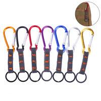 Backpack Belt Hanging Carabiner Clip Hook Three Rings Combination Key Ring U wr