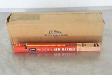 Vintage Collins #15 Pin or Chalk Hem Marker NEW OLD STOCK CASE OF 12