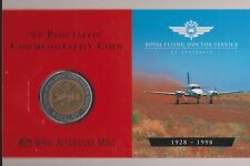 **1998 Australian Royal Flying Doctor service  $5 coin UNC**