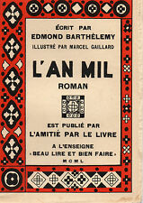 L'AN MIL, par Edmond BARTHELEMY , L'AMITIE PAR LE LIVRE
