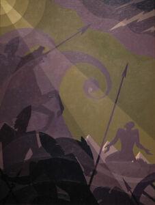 Let My People Go : Aaron Douglas : 1930s : Archival Quality Art Print