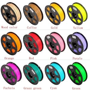 Premium 30M 3D Printer Filament 1.75mm 3mm ABS/ PLA RepRap MarkerBot 22 Color