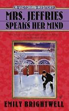 NEW! Mrs. Jeffries Speaks Her Mind by Emily Brightwell (2010,Hardcover)Free Ship