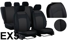 """VW PASSAT B8 HIGHLINE ESTATE, LEATHER FABRIC """"ROYAL"""" SEAT COVERS MADE TO MEASURE"""