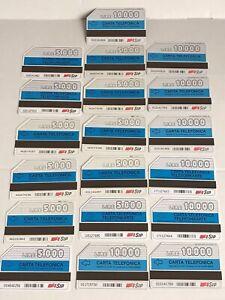 Circa 1992 Carta Telefonica Italy Italian Telephone Card SIP Job Lot x19 LIRE