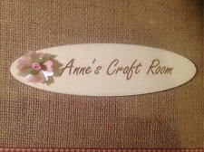 Personalised Craft Room Personalised Plaque / Craft Job Lot / ROOM / Any WORDING