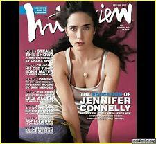 Interview Magazine Dec/Jan 2007 Jennifer Connell Jennifer Hudson Ben Whishaw