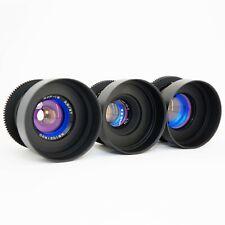Anamorphic Flare & Bokeh Purple Set 37 58 85 Cine Lenses Canon EF Sony E, M4/3