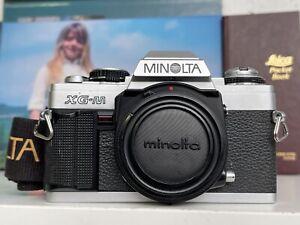 Minolta XG-M XG M 35mm Spiegelreflexkamera Body Analog SLR Filmkamera Vintage