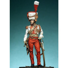 1:24 Scale Military Officer Resin Figure Model Kit Unassambled Unpainted