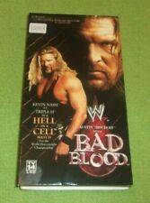 WWE Bad Blood VHS CASE ONLY 2003 Kevin Nash Collectible