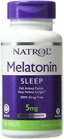 Natrol Melatonin Time Release 5mg Tablets 100 ea (Pack of 2)