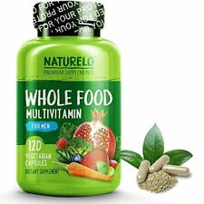 NATURELO Whole Food Multivitamin for Men - #1 Ranked - with Natural Vitamins