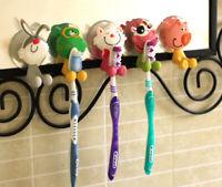 Zahnbürsten Halter Cartoon Tier Saugnapf Kinder Badezimmer Wand Dekoration@AmH