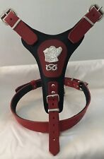 STAFFORDSHIRE/STAFFY/STAFFIE/STAFF- BULL TERRIER DOG HARNESS REAL LEATHER