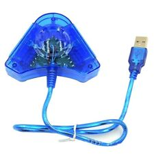 Dual PSX PS1 PS2 Playstation 2 To PC USB Pad Controller Converter Adapter UK