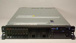 IBM x3650M4 Server Dual E5-2643 V2 6 Core 3.5 GHz 192 GB DDR3 2x 300GB SAS
