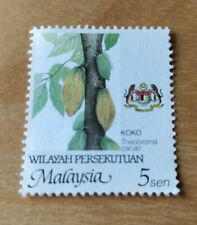 5 sen Getah Malaysia Stamp Setem for postage - 10 pc