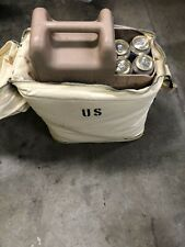 New listing Us Military Insulated Jerry Can Bag Canvas Water Carry Case Cooler w/ Strap