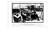 U2 ~ Rattle & Hum Studio 24x36 Music Poster Bono Edge Larry Mullen Adam Clayton