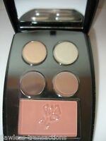 LANCOME All-in-one Color Design 4-pan Eye Shadow,1 Blush Subtile Palette NEW