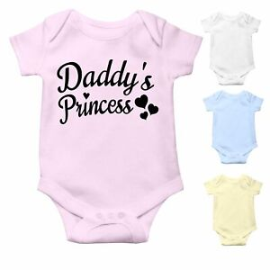 Daddy's Princess   Baby Grow Baby Bodysuit Baby Vest for Baby Girl