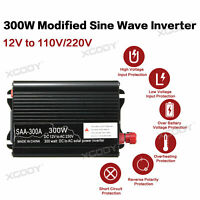 300W Solar Power Inverter DC24V to AC220V Modifizierter Sinus-Wechselrichter BYL