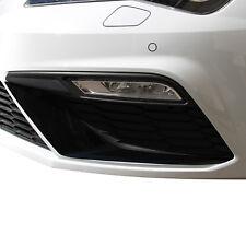D049 alerón flap Wing negro brillo lámina Seat Leon 5f Facelift Cupra FR SC St