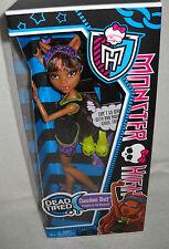 #6287 NRFB Mattel Monster High Dead Tired Clawdeen Wolf Doll
