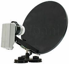 "55-2240 15"" Portable Satellite Dish with LNB"
