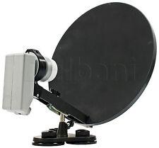 "55-2240 15"" Portable Satellite Dish with LNB"