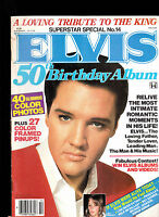 Elvis Presley 50th Birthday Album Magazine Superstar Special #14 1984