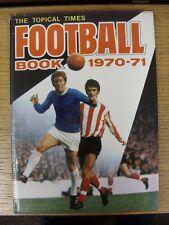 Libro De Fútbol 1970/1971 tiempos tópico: No.12 - Tapa Dura Con Sobrecubierta (leve