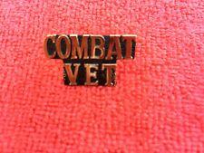 Combat Vet Hat/Lapel Pin