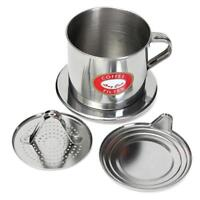 Stainless Steel Italian Coffee Stovetop Maker Pot Moka Espresso Latte Hot N3