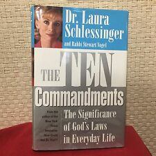 The Ten Commandments The Significance of God's Laws Schlessinger Signed