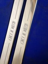 X19 fiat x1/9 door sills stainless steel etched logo (early design)inc fixings