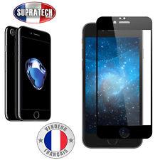 Protection d'Ecran en Verre Trempé Face Avant Complète Noir pour Apple iPhone 7
