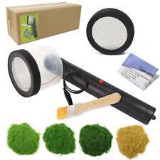 Portable Static Grass Flocking Applicator Machine 2 Sieves 120g 5mm Grass Powder
