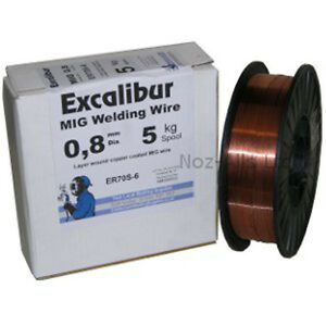 0.6mm 5kg ER70S-6 A18 MIG Welding Wire - Mild Steel - CWS