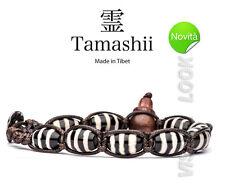 BRACCIALE ORIGINALE TIBETANO TAMASHII BKRA SHI (Simbolismo) SAGGEZZA