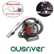 Black&Decker Handheld Auto Car Vacuum Cleaner 12V 12.5W 5M Cord Wet/Dry Caravan