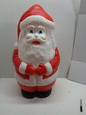 """Union Products  Jolly Santa 33"""" Christmas Blow Mold Lighted! # 2 BLUE EYES"""
