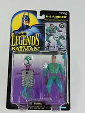 THE RIDDLER with Firing Question Mark Launcher LEGENDS OF BATMAN 1995 Kenner MOC