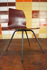 60er Vintage Stuhl Pagholz Teak Designer Schulstuhl Mid-Century 50er