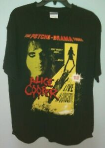 Alice Cooper The Psycho Drama Tour Concert Tee T-Shirt This won't hurt....much