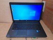 HP ZBook 17 G2 Quadcore i7 4810MQ 16GB RAM 512GB  SSD + 1TB HDD WORKSTATION  W10