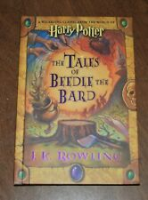 Harry Potter The Tales of Beedle the Bard 2008 First Edition First Printing