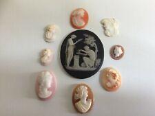 Quantity of Antique Shell Cameo Stones - Lot 3
